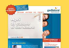 Gas Natural - Apri al Calore